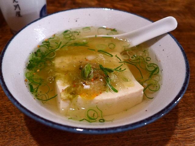 Mのハシゴ酒  風格漂う湯豆腐の老舗  天神橋6  「上川屋」
