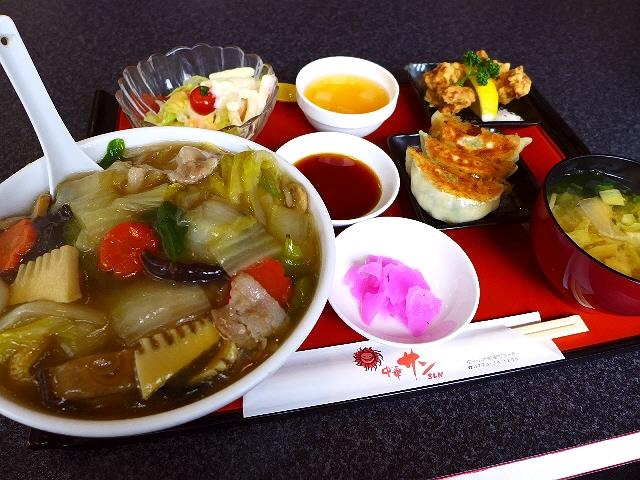 地元で大人気の中華は全てがボリューム満点です!  京都府福知山市  「中華サン」