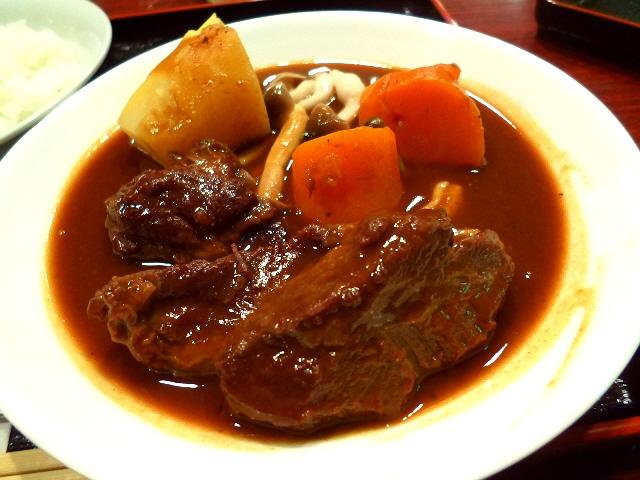 月曜日限定の超お値打ちビーフシチューランチ!  北新地  「お惣菜 季(とき)」