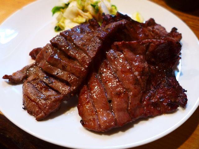 仙台名物の牛タンはワイルドな食感でめちゃ旨でした!  宮城県仙台市  「旨味太助」