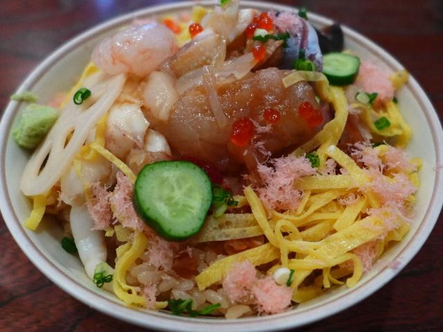 仙台の新名物の仙台づけ丼をいただきました!  宮城県仙台市  「小判寿司」