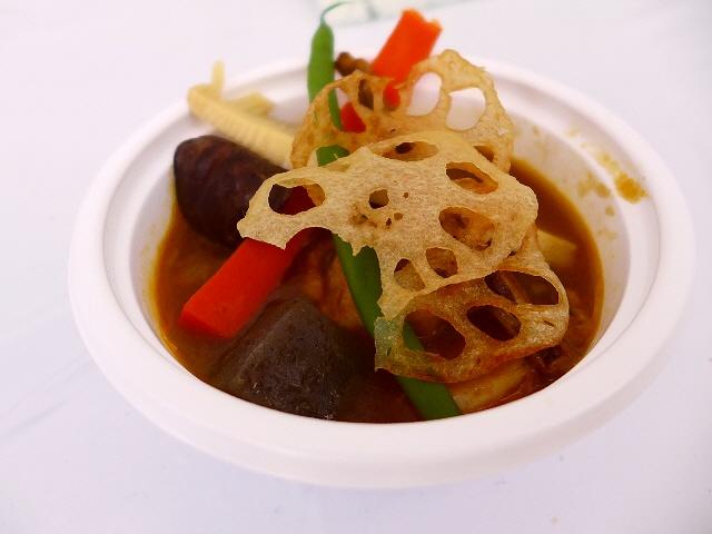 東日本大震災チャリティー 「立ちあカ~レ~2013」で美味しいカレー料理を堪能しました!