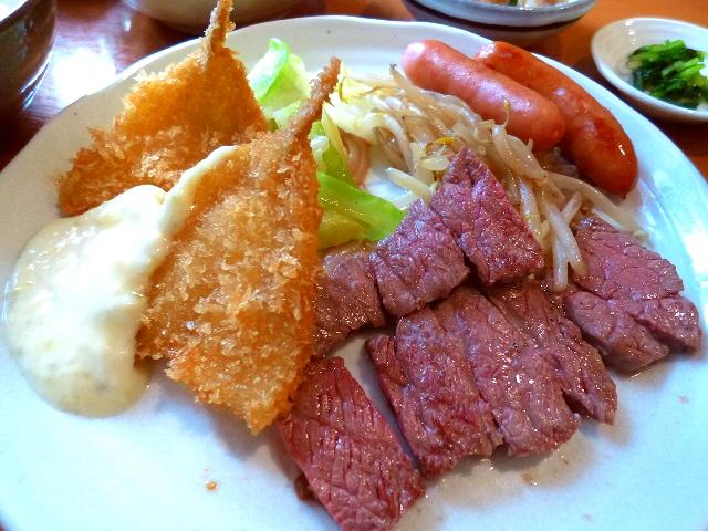 美味しくて安くてお得で大人気の鉄板洋食屋さん  天神橋4  「洋食鉄板焼 OPEN SESAME!」