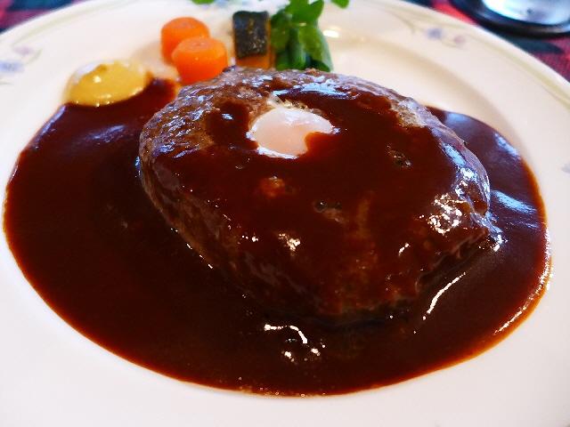 高級ステーキハウスの絶品ハンバーグランチ!  京都市西京区  「くいしんぼー山中」