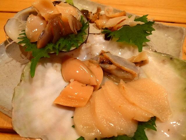 苫小牧名物のホッキ貝をいただきました!  北海道苫小牧市  「苫小牧新鮮魚市場」