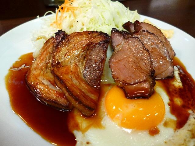 レベルの高いチャーシューが食べられるチャーシュー専門店!  大阪駅前第2ビル  「ちゃあしゅう亭」
