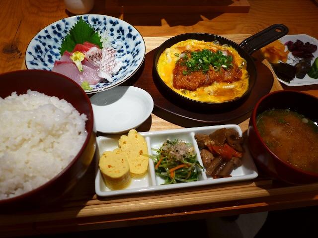 名物が食べられなくても全てが超お値打ちの感動ランチ!  北新地  「浪花ろばた itadakitai(頂鯛)」