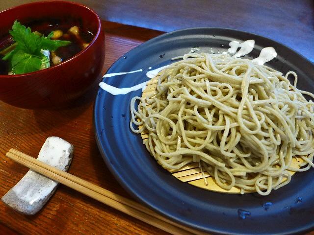 住宅街で香り高き絶品の本格十割蕎麦がいただけます!  兵庫県川西市  「そば切り 吟香」