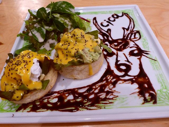 味も見た目も楽しめてサプライズも満載の隠れ家カフェ!  福島区  「Art&Sweets cica(シカ)」
