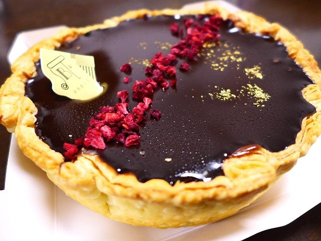 Mのおやつ  パブロの大人気月変わりチーズタルト!2月は絶品チョコチーズタルトです!  心斎橋  「PABLO 心斎橋店」
