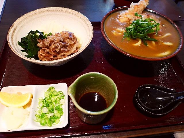 猛烈にお値打ちで満足感大のミニミニセットが登場しました!  東大阪市  「純愛うどん なでしこ」