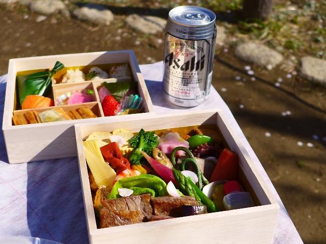 お花見のお供の超豪華な絶品お弁当!大阪で京都の名店 『祇園 さヽ木』 の味が楽しめます!@ホテルニューオータニ大阪