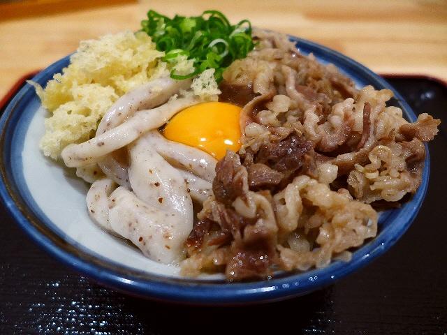 独特の剛麺うどんが良心的な価格で朝から食べられるうどん屋さん!  福島区  「讃く」