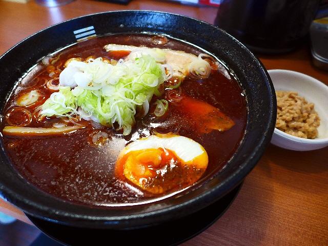 旨味が凝縮した魚介味噌に納豆がびっくりするほどマッチします!  豊中市  「烈火」