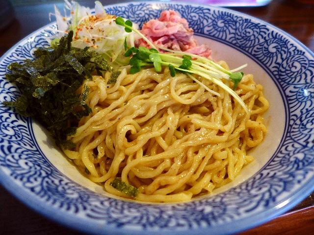 歯ごたえ、風味、喉ごしが抜群の超ハイレベルの麺が楽しめる魚介あえ麺!  西成区  「かしや」