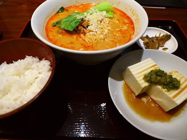 非常に奥の深い味わいの高級担々麺! 北新地  「海鮮酒家 海皇(ハイファン) 大阪堂島店」