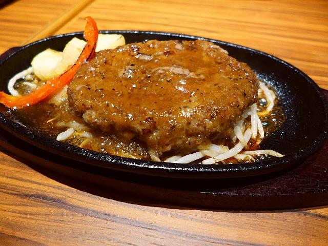 1日10食限定ハンバーグランチ!お肉とソースの旨味がたまりません! 心斎橋 「リゾートキッチン ロイヤルハワイアン」