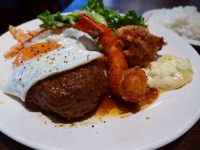 ボリューム満点で満足感の高い洋食ランチ! 西梅田 「brasserie boo(ブラッスリー ブー)」