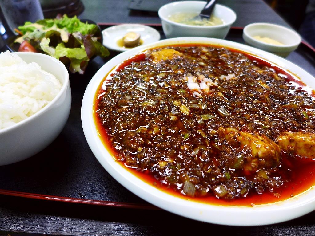 旨味と辛味がたっぷりの本格麻婆豆腐は絶品です!  摂津市 「四川屋 一創」