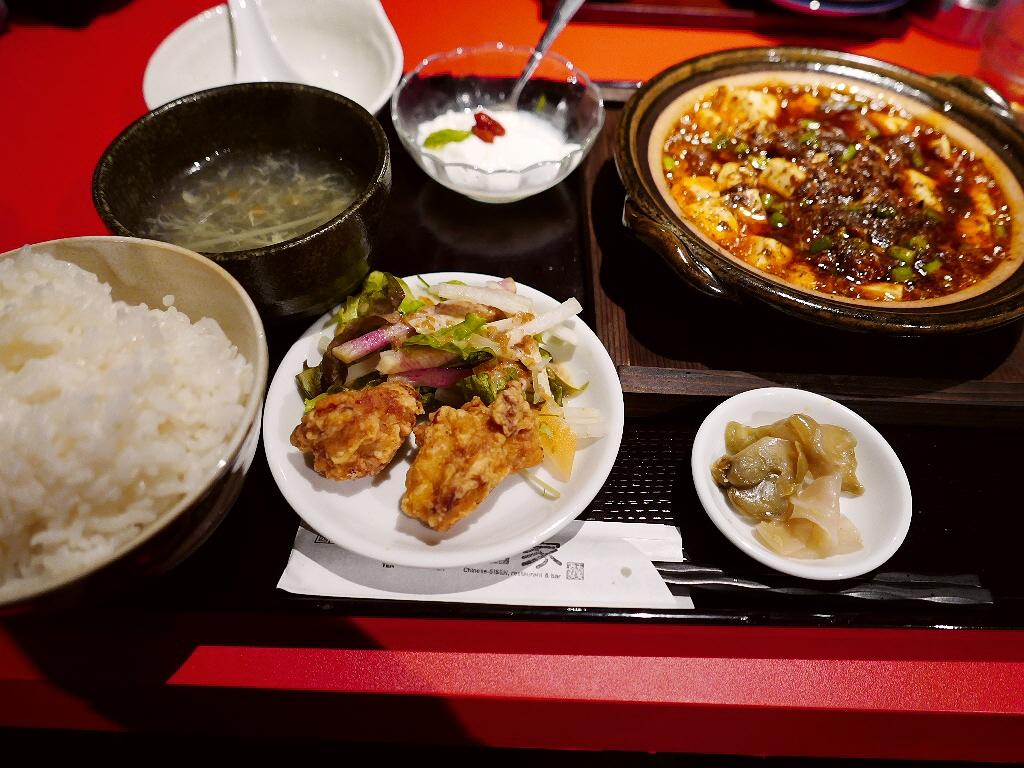 思いがけず出会った四川麻婆豆腐は本格派の味わいでした! 難波 「天天酒家」