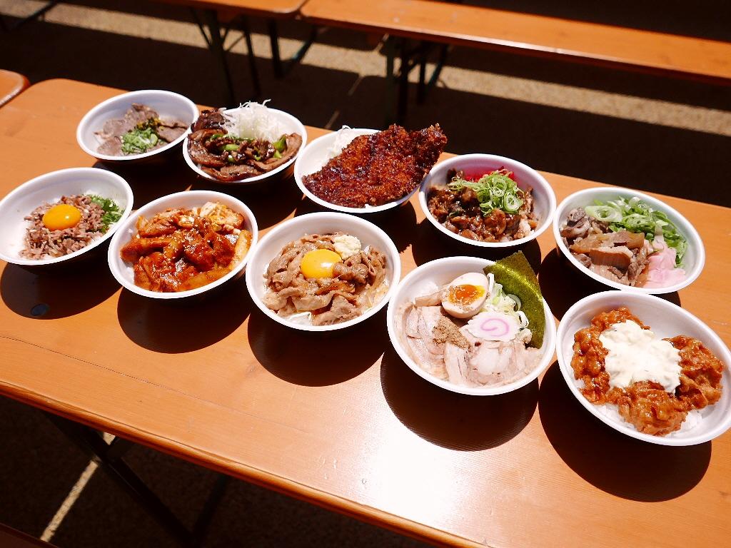 『2015 肉汁祭 全国どんぶりチャンピオン決定戦』 最終週の丼も素晴らしくお値打ちです! @西梅田スクエア
