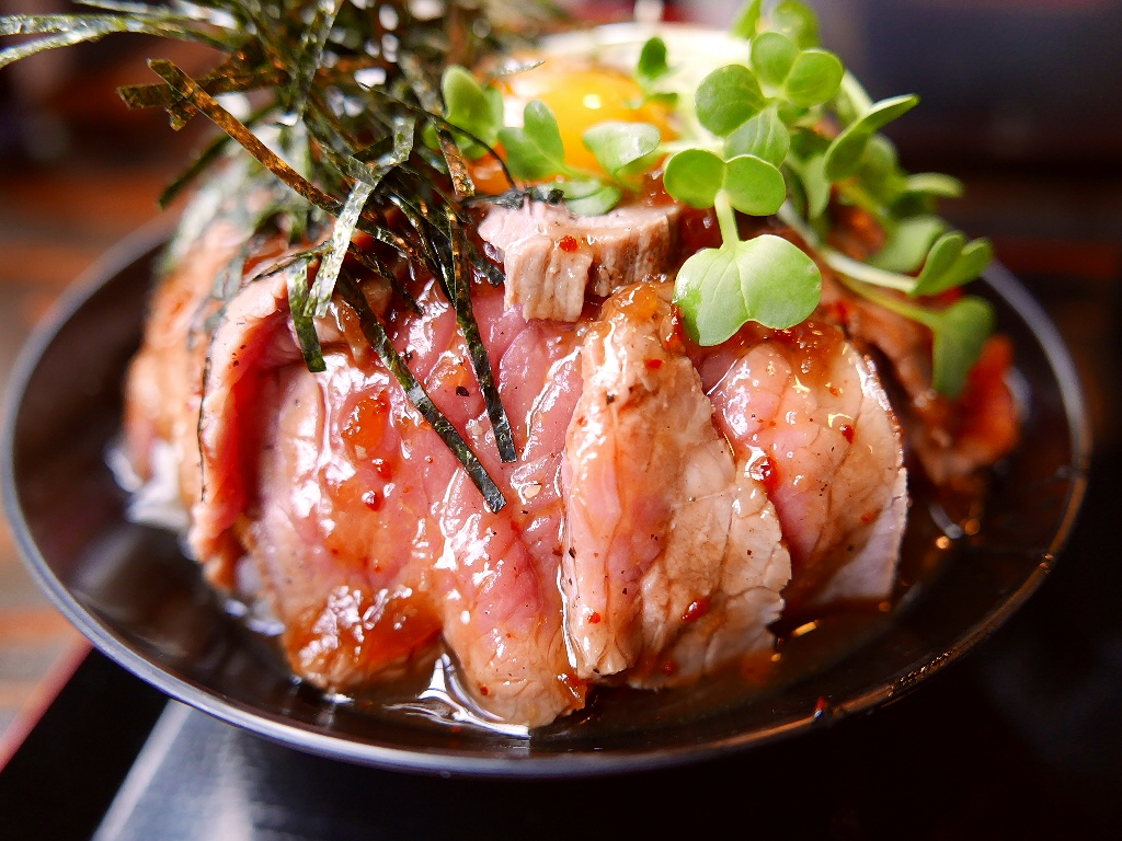ローストビーフ丼、ステーキ丼、肉丼、牛丼(大阪・京都・兵庫) 21軒
