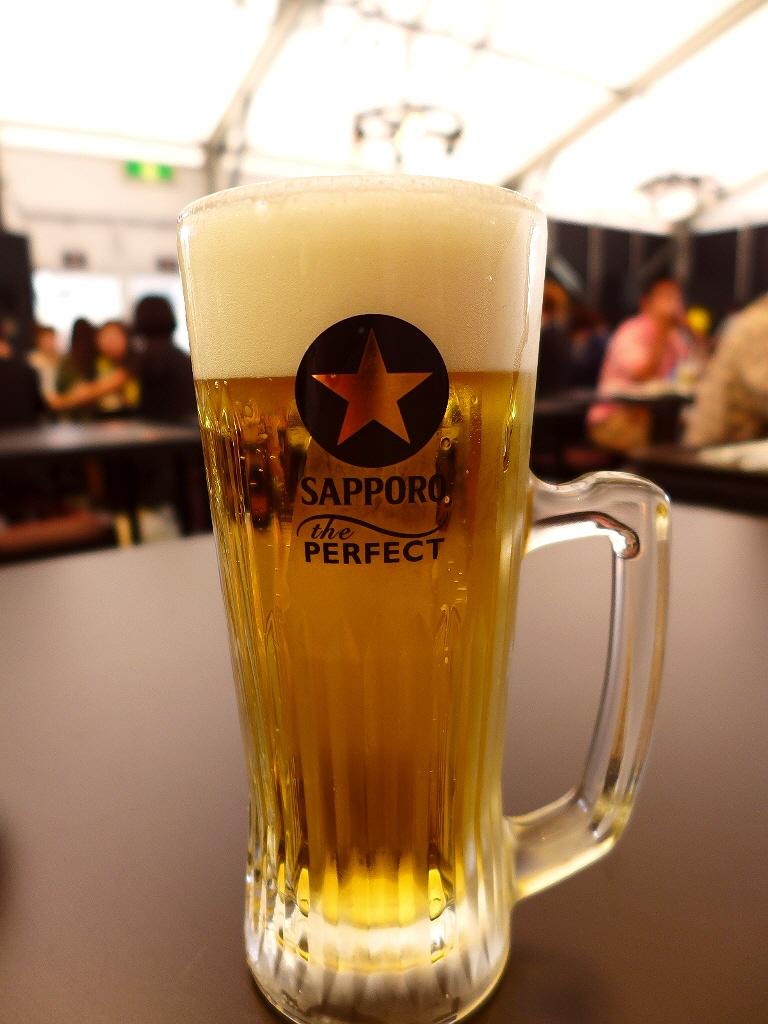 「THE PERFECT 黒ラベル BEER GARDEN 2015 OSAKA」で冷た~いビールと美味しいニューミュンヘンの唐揚げが楽しめます! @西梅田スクエア