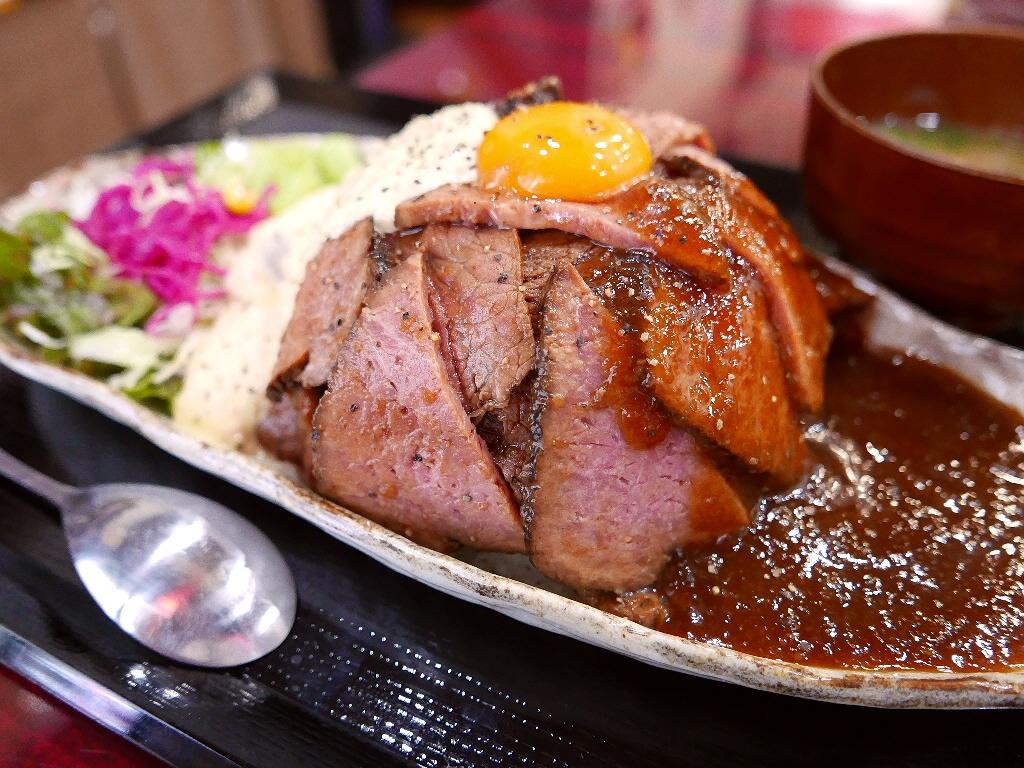 満を持して発売のどぎゃんのローストビーフ丼は一味違います! 西区立売堀 「鶏麺 宮崎郷土料理 どぎゃん 立売堀店」
