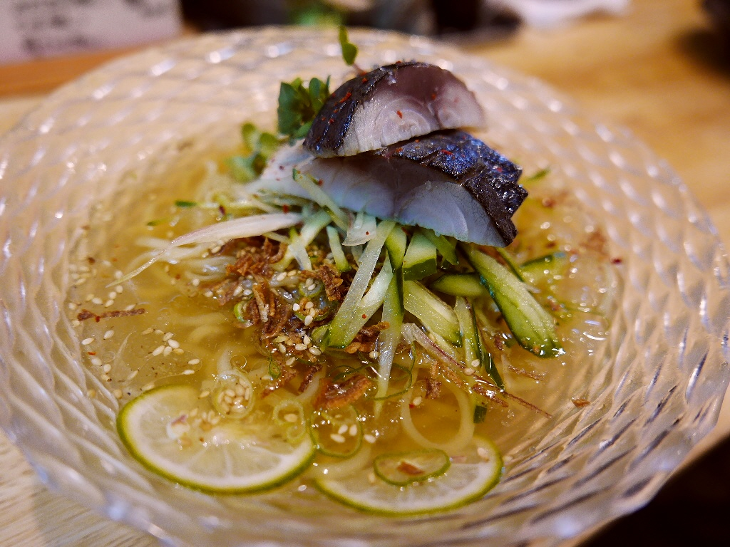 お出汁も魚ももはや割烹のような極上の冷やしラーメン! 福島区 「福島壱麺」