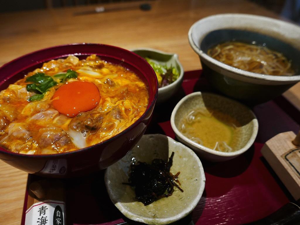 贅沢すぎる紀州鴨の親子丼は満足度が高すぎます! 豊中市 「鼓道」