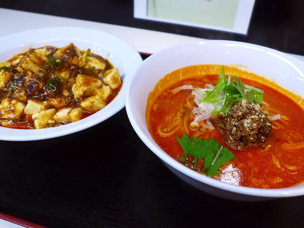 本格的な味わいの担々麺と麻婆豆腐がいただけるお値打ちランチセット! 枚方市 「シビカラ屋ロッキー」