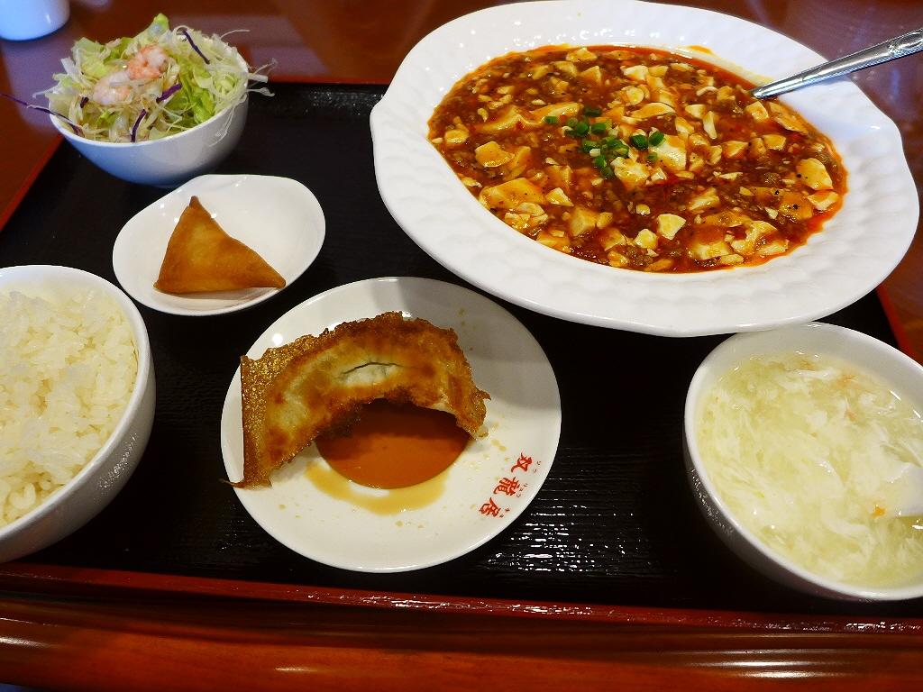 何度食べても旨いもんは旨い!完全病み付きの絶品麻婆豆腐! 北区浪花町 「中国食府 双龍居」
