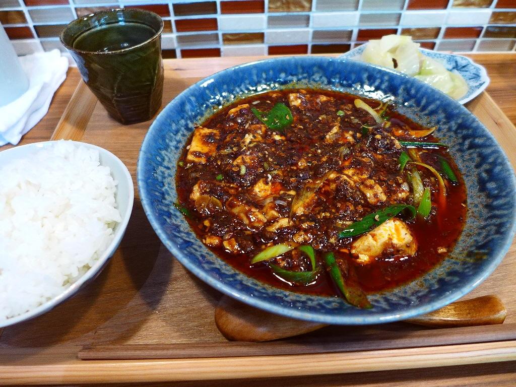 名店出身シェフによる絶品麻婆豆腐ランチ! 福島区 「中国料理 六徳 恒河沙(りっとく ごうがしゃ)」
