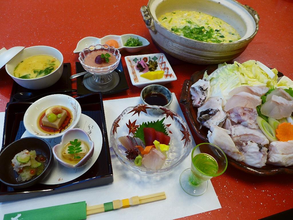 エースJTB関西発×Mのランチ 冬の味覚コラボ企画! 「紀州 クエ伝説」
