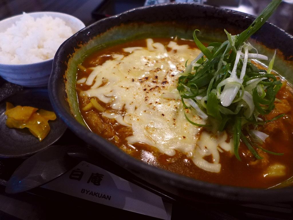 いりこベースの旨味が凝縮しまくった絶品カレー出汁! 淀川区 「白庵」