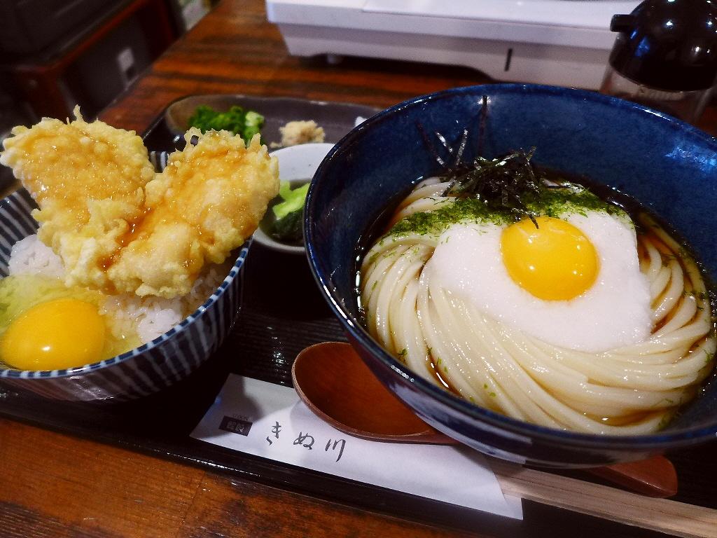 気持ちよく伸びて爽快なのど越しのハイレベルな熟成麺! 谷6 「饂飩 きぬ川」