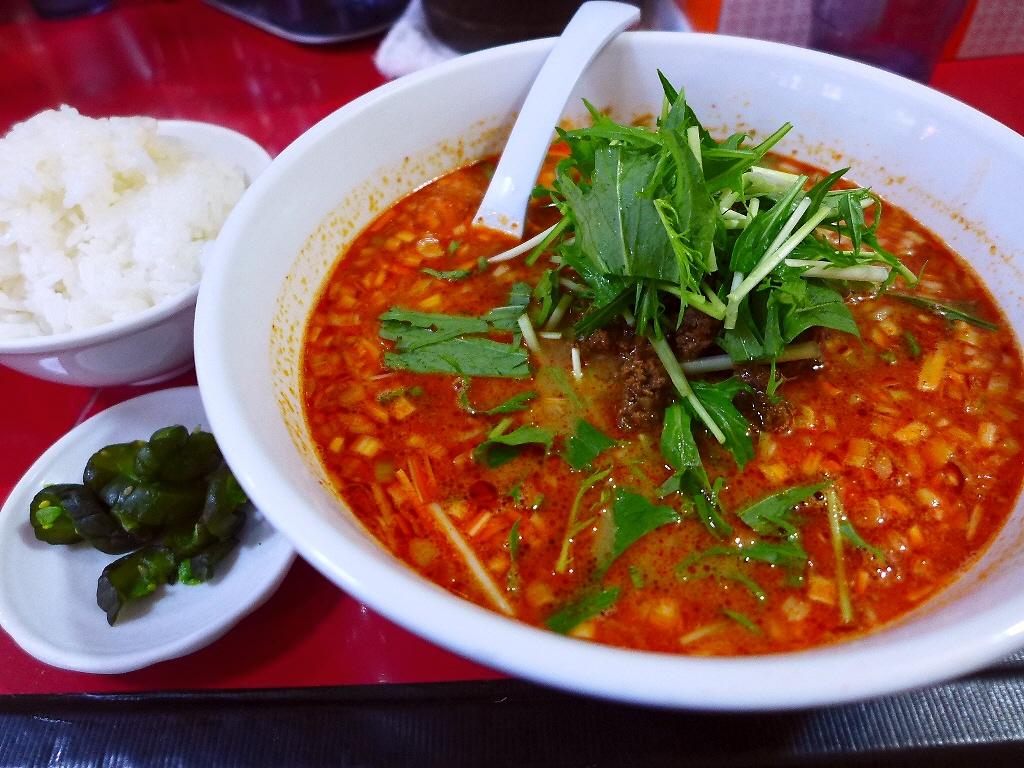 老舗胡麻屋さんの厳選胡麻の香ばしい風味とコクが抜群の本格担々麺! 京橋 「ササラ」