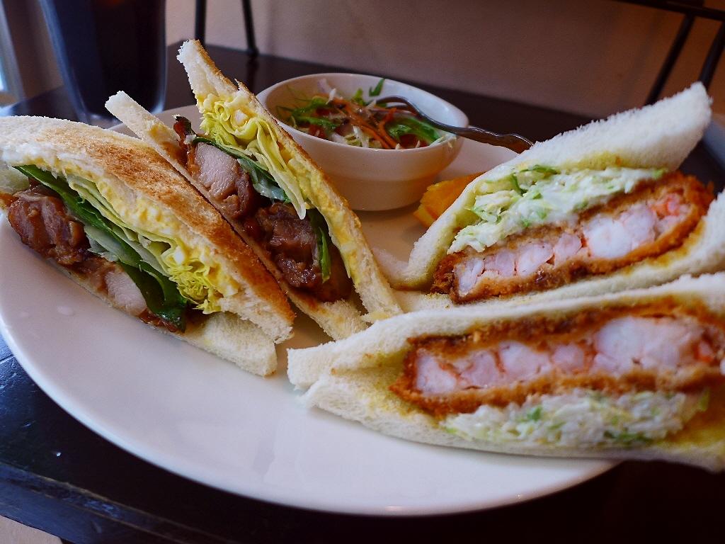 魅力的なサンドイッチが揃う使い勝手抜群のサンドイッチ専門カフェ! 淀川区西中島 「サンカフェ 西中島店」
