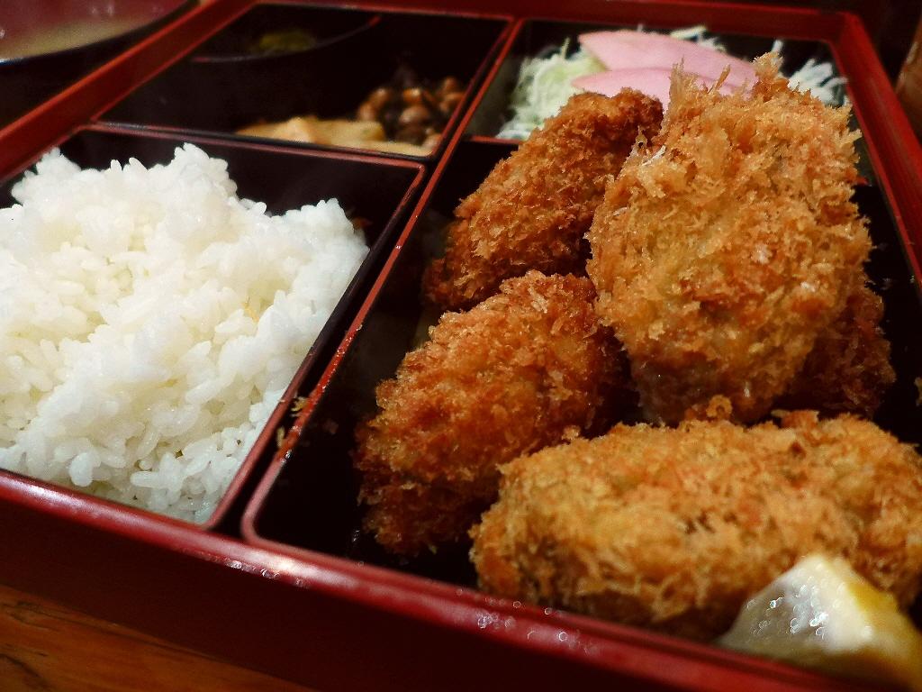 大阪最高峰コスパのカキフライ定食!今年も始まりました! 北新地 「酒菜 竹井」