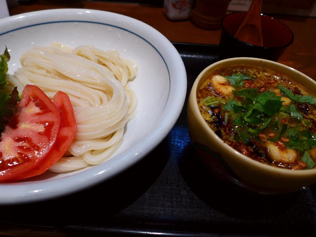 12月限定のつけキーマ3の本格的なスパイシーな味わいに感動! 大阪駅前第3ビル  「うどん棒 大阪店」