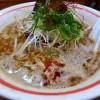 鶏の旨みだけがぎゅ~っと凝縮した完成度の高い濃厚鶏白湯! 新梅田食道街 「古今亭」