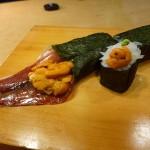 泳ぎイカ丸ごと一匹を巻いてしまいました! 豊中市 「遊食遊膳 笹庵」