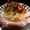 高級な煮干しを惜しげもなく大量に使った強烈な煮干し風味の吟醸nigoriラーメン! 南船場 「鶏Soba座銀 にぼし店」