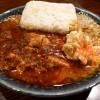 本格麻婆豆腐と本格スパイスカレーの両方の美味しさが一度に味わえるスパンキー麻婆カレー! 北新地 「北新地 林家」