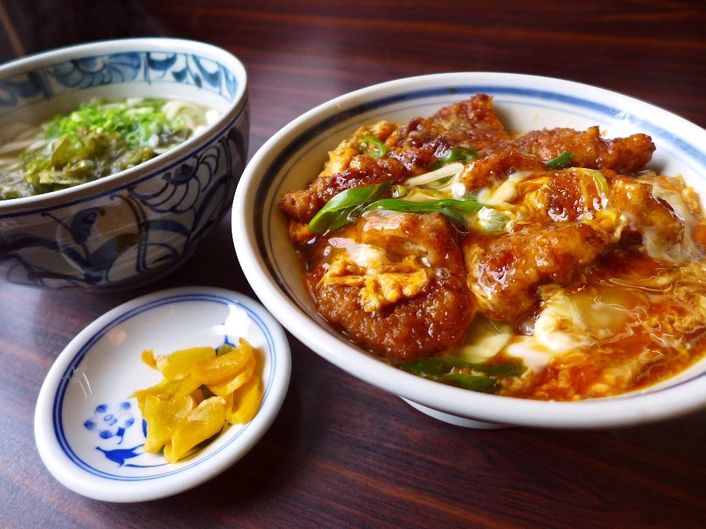 地元で愛される昔ながらの大衆食堂の安くて旨い名物カツ丼! 浪速区桜川 「お食事処 かつよし」