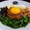 地下鉄新大阪駅直結の新なにわ大食堂で大人気の台湾まぜそばがいただけます! 新大阪 「麺やマルショウ 地下鉄新大阪店」
