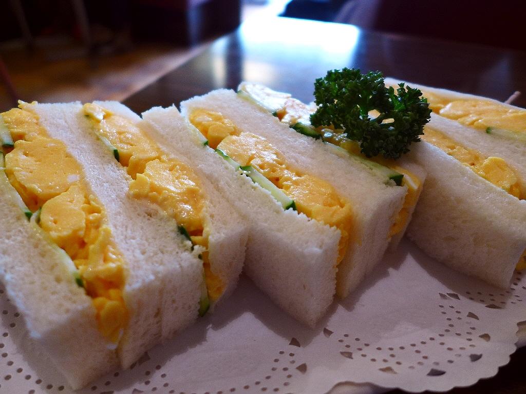 何度食べても感動的に美味しい玉子サンド! 京都市東山区 「切通し進々堂」