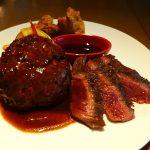 お肉屋さんの美味しいハンバーグとステーキにビュッフェが付いた満足感が高すぎるお値打ちランチ! なんば 「ロマン亭 VILLA なんばCITY店」