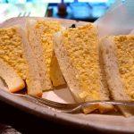しっとり玉子がた~っぷりサンドされた贅沢玉子サンドで幸せです! 吹田市 「ガルル珈琲」