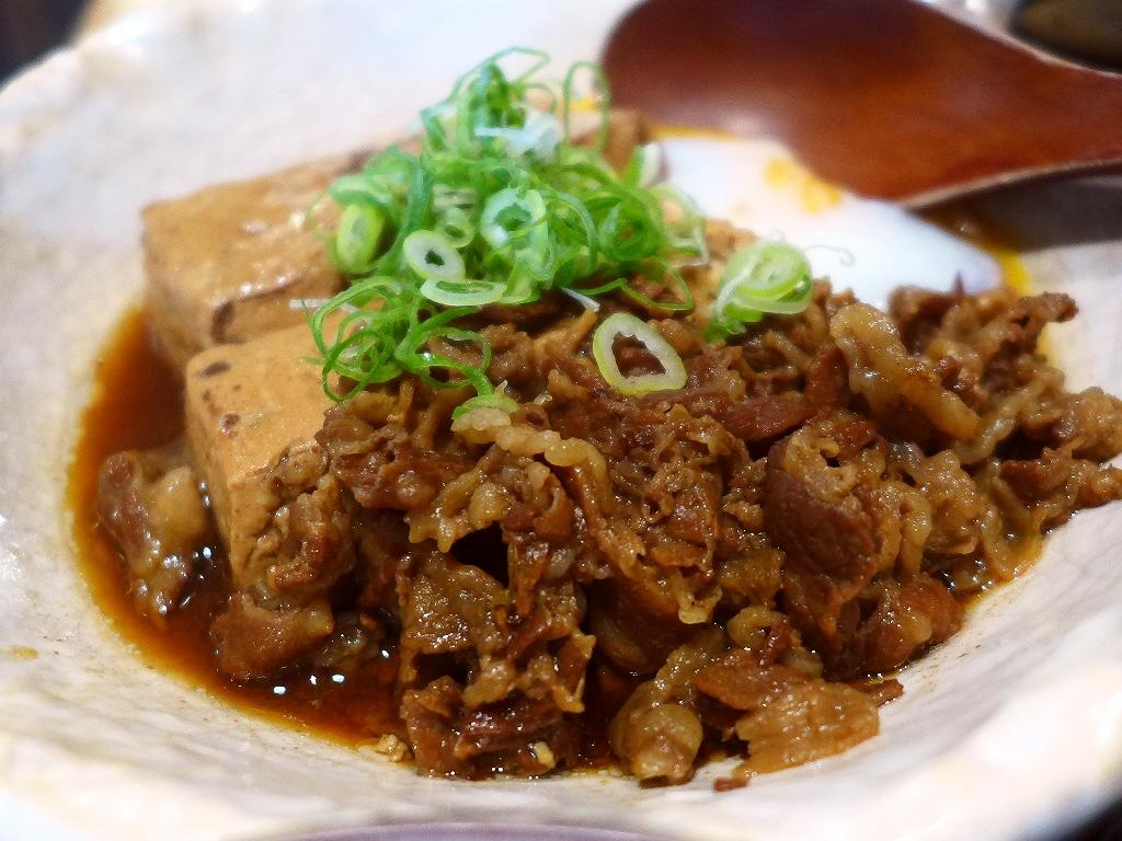 おでん屋さんの肉豆腐は濃い目のお出汁が染みまくりでご飯が止まらなくなります! グランフロント大阪 「大坂おでん 久 グランフロント大阪店」